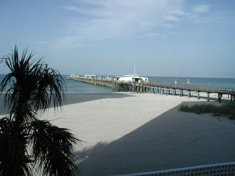 Fishing Pier from Balcony
