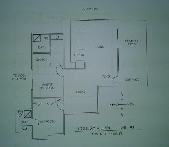 Holiday Villas #1 Floor Plan